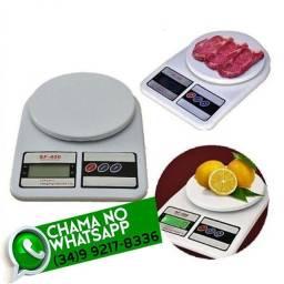 Título do anúncio: Balança Digital Cozinha 10 Kg Dieta Fitness Academia * Fazemos Entregas