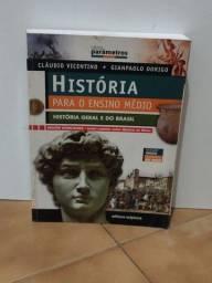 Título do anúncio: Livro História ensino médio