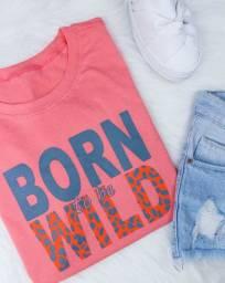 Blusinha T-shirt feminina