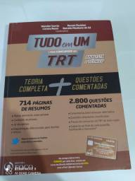 """LIVRO """"TUDO EM UM"""" PARA CONCURSOS DO TRT"""