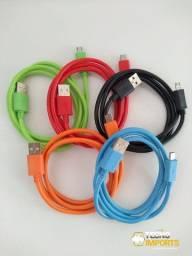 Cabo de dados USB Cores