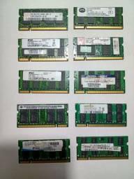 MEMÓRIA 2GB DDR2 P/NOTEBOOK (Kingston, markvision, smart, etc)