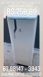 Vende - Se Geladeira Electrolux RE 31 Degelo Prático 240 Litros
