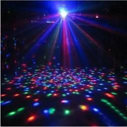 Jogo de luz , bola maluca giratória colorida / globo de luz