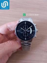 Título do anúncio: Relógio Masculino Pulseira Aço Inoxidável Analógico