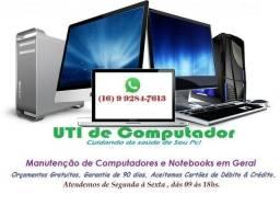 Manutenção de Computadores & Notebooks em Geral.