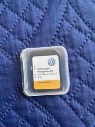 Cartão Gps Golf T-cross Tiguan Passat Polo versão v9