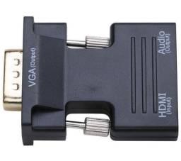 Título do anúncio: Conversor HDMI fêmea para VGA Macho