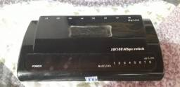 Switch 10/100 de 8 portas