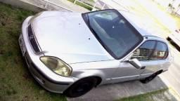 Título do anúncio: Honda Civic 1.6 Automatico bem conservado