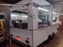 Trailer food truck Duplo Completo