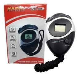 Título do anúncio: Cronometro Digital Kadio Alarme, Esporte,cordão Data E Hora