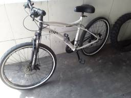 Título do anúncio:  Bicicleta  aro 26    aceito troca  por celular