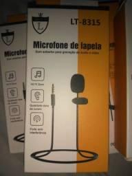 Microfone de lapela profissional 1,5m