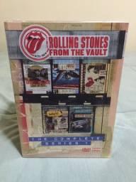 Box ROLLING STONES FROM DE VAULTS (5 DVD S - LACRADO)