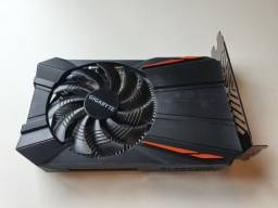 Placa De Vídeo Amd Radeon Rx 550 2GB GigaByte  PRECINHO PRA SAIR HOJE
