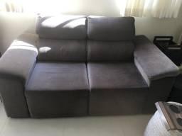 Vendo sofá 2 lugares praticamente novo