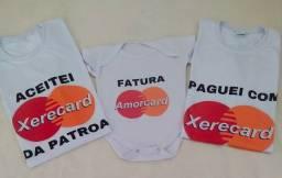 Promoção kit com 3 camisetas brancas