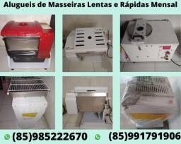 Aluguel de Masseiras.forno de pizza, processador de alimento.