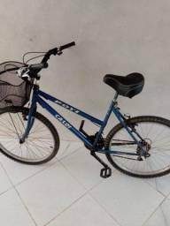 Título do anúncio:  Bicicleta Caloi- Muito Nova- banco e corrente zerados.