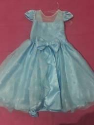 Vestido tematico Frozen