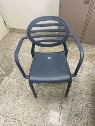Cadeira Braço Penha Cinza