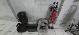 Bebe Conforto Burigotto,,Duas cadeiras, Carrinho Novo kit Bebê