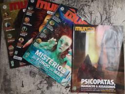 Revistas da Extinta Mundo Estranho