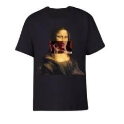 Camisa Monalisa Ousada Vintage