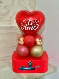 Balões Personalizados com lindas cestas!!!