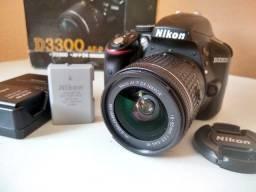 Camera Nikon D3300 + 18-55mm