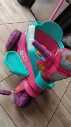 Triciclo infantil bandeirantes menina