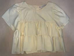 Blusa cropped Zara