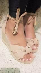 Lindas sandálias a partir de