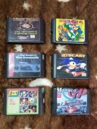 Título do anúncio: Fitas Mega Drive