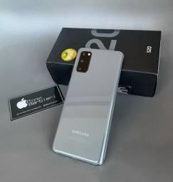 Celular Samsung Galaxy S20 seminovo ? nota fiscal, garantia até 12/08/2021 + 5 brindes