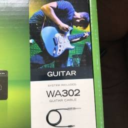 Título do anúncio: Shure BLX4 wa302 Guitar Cable