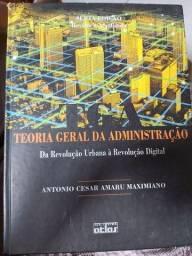 Título do anúncio: Livro teoria geral da administração