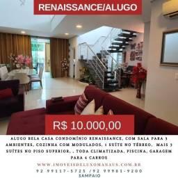 Condominio Renassance  Casa  com 317m, 4 suítes com closet, piscina