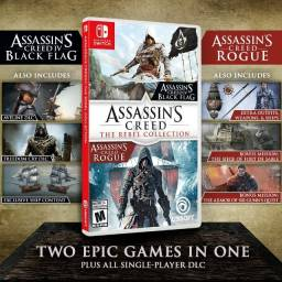 Assassins Creed Rebels Collection - nitendo switch