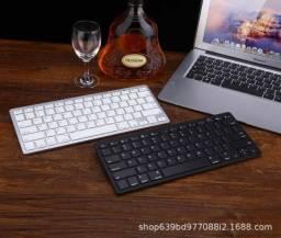 Mini Teclado Portátil Bluetooth Wireless para Computador Notebook