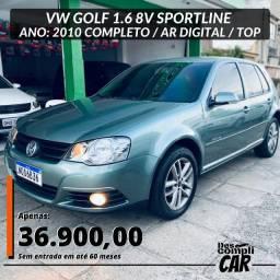 Golf 1.6 Sportline 2010 flex (Triunfo Automoveis)