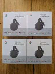 Chromecast 3 Geração Lacrado Original