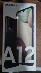 Samsung A 12 na caixa com nota fiscal!!