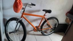 Bicicleta toda nas peças