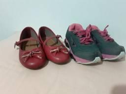 Calçados menina tamanho 24