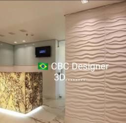 Título do anúncio: 3D gesso ou cimento * revestimento