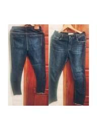 Calca jeans maria filo tamanho 40. Em bom estado com logo da marca