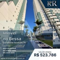 Título do anúncio: Apartamento com 3 dormitórios à venda, 79 m² por R$ 523.786,00 - Bessa - João Pessoa/PB