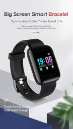 Relógio Inteligente Smartband D13 Preto